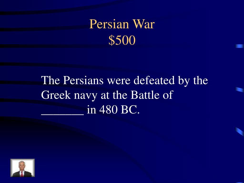 Persian War