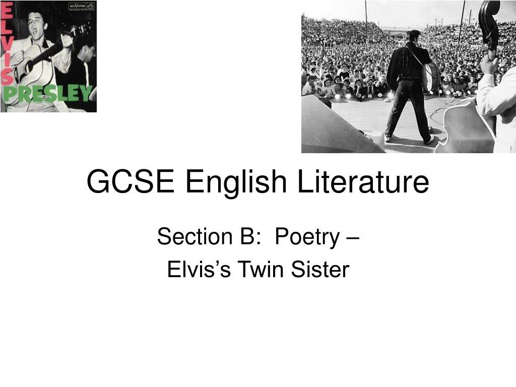 gcse english literature l.