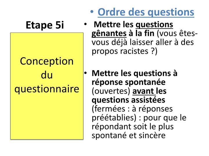Etape 5i