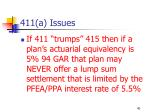 411 a issues40