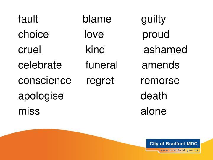 Key vocabulary – Years 3 and 4