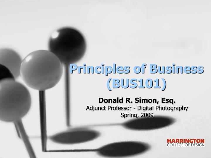 principles of business bus101 n.