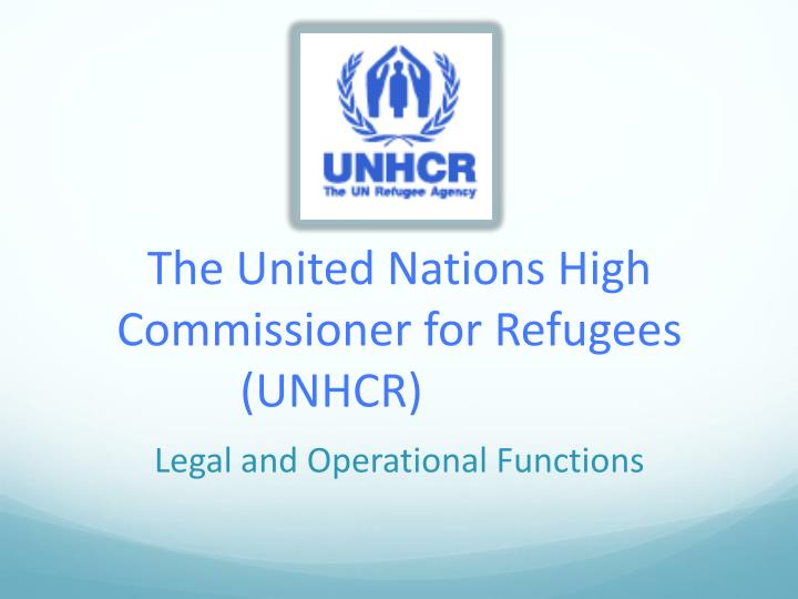 the unhcr Learn about working at unhcr, the un refugee agency see who you know at unhcr, the un refugee agency, leverage your professional network, and get hired.