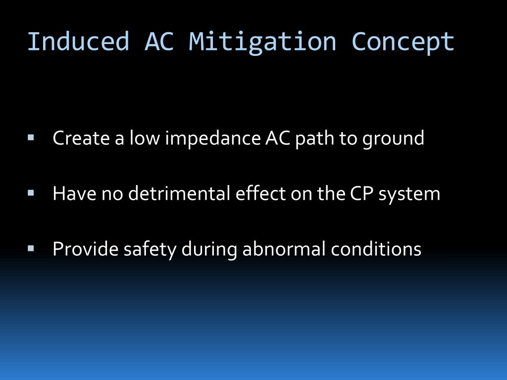 Induced AC Mitigation Concept