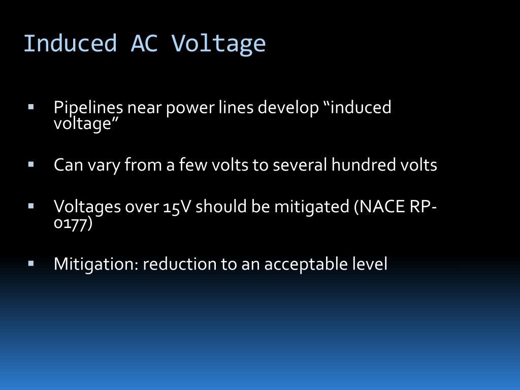 Induced AC Voltage