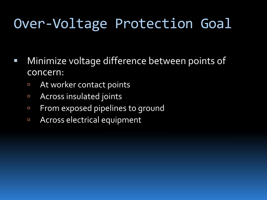 Over-Voltage Protection Goal