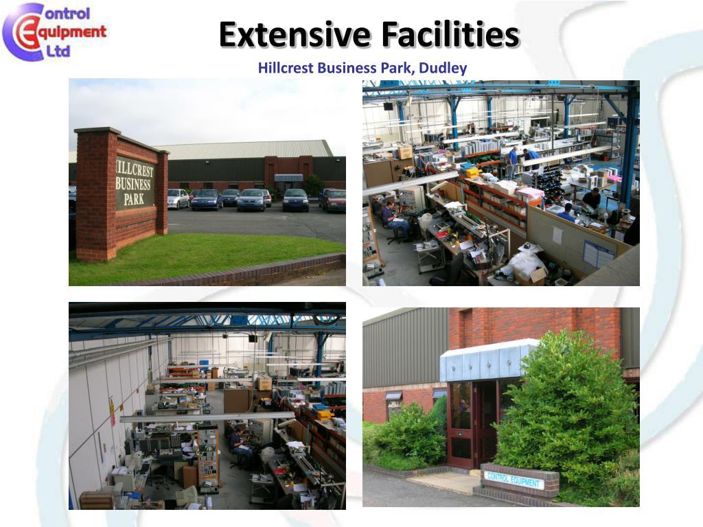 Extensive Facilities