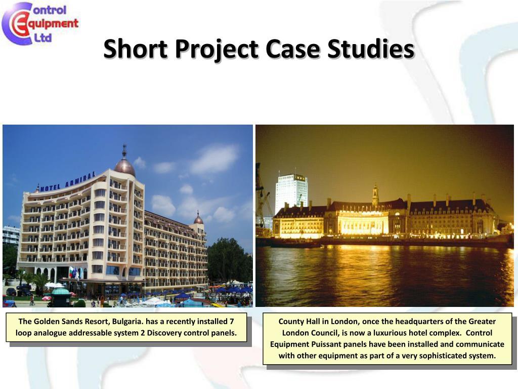 Short Project Case Studies