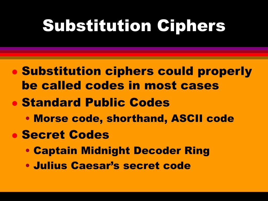 PPT - Categories of Ciphers PowerPoint Presentation - ID:1377800