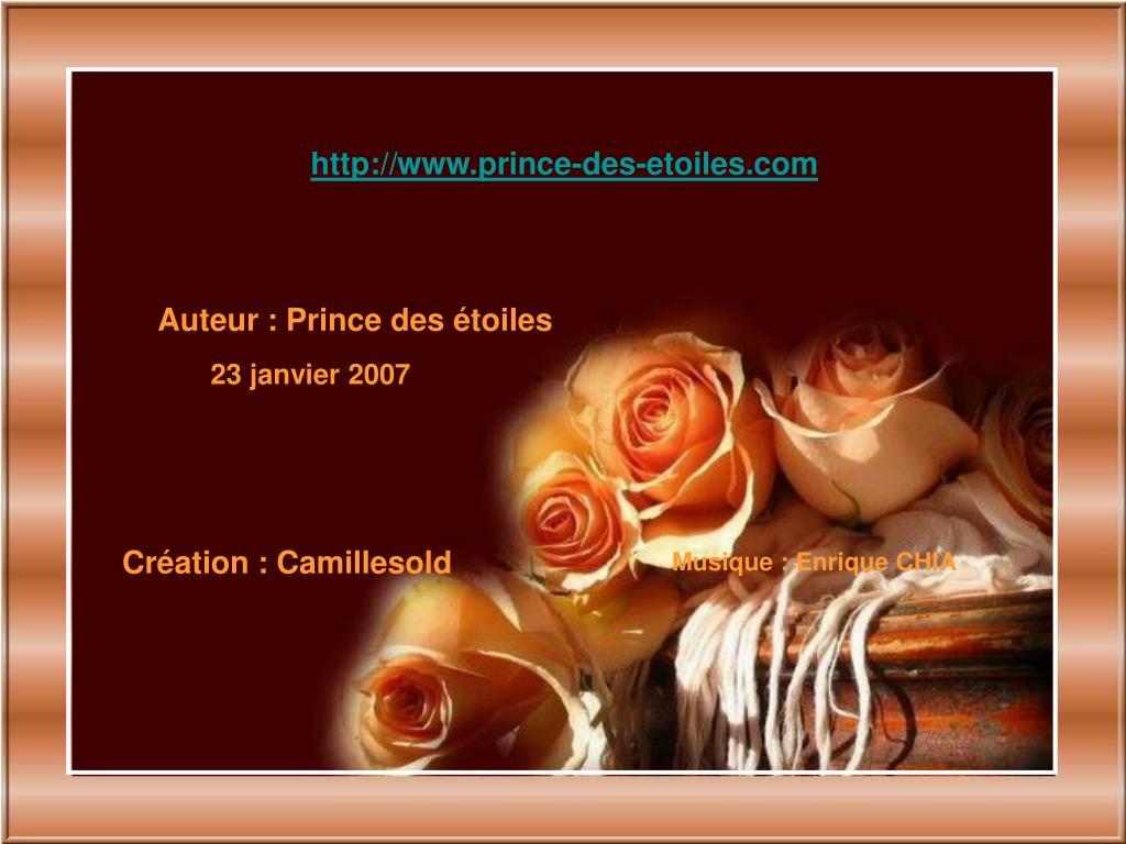 http://www.prince-des-etoiles.com