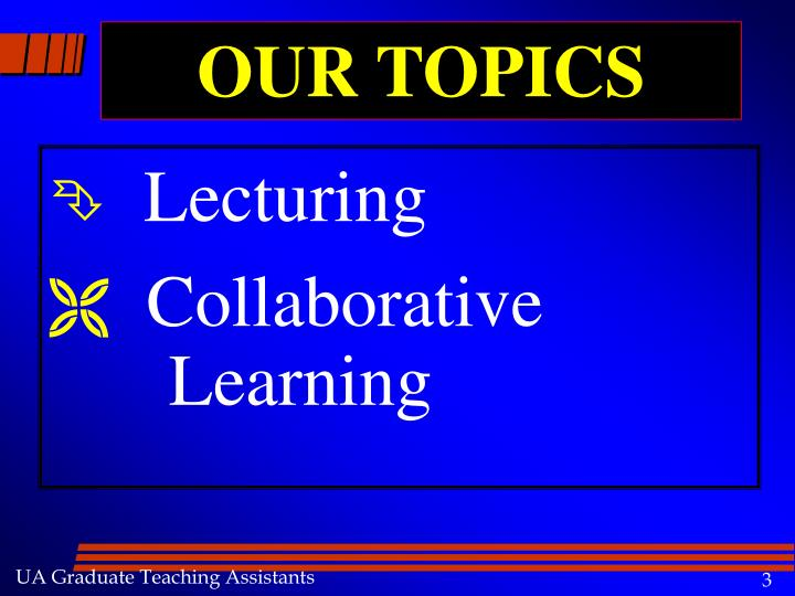 Our topics