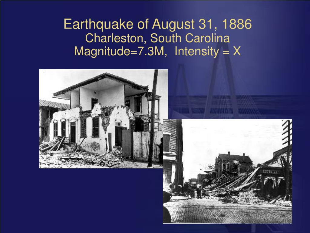 Earthquake of August 31, 1886