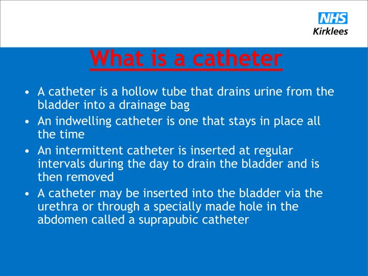 What is a catheter