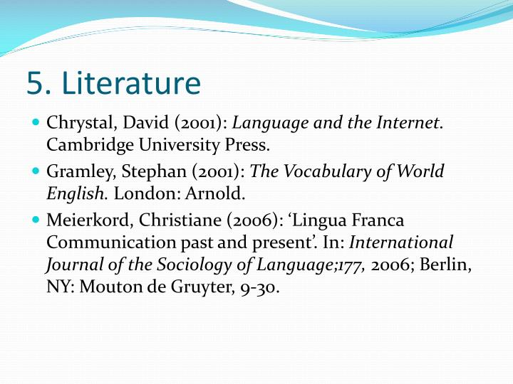Ppt English As A Lingua Franca Powerpoint Presentation Id1377979