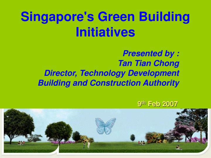 singapore s green building initiatives n.