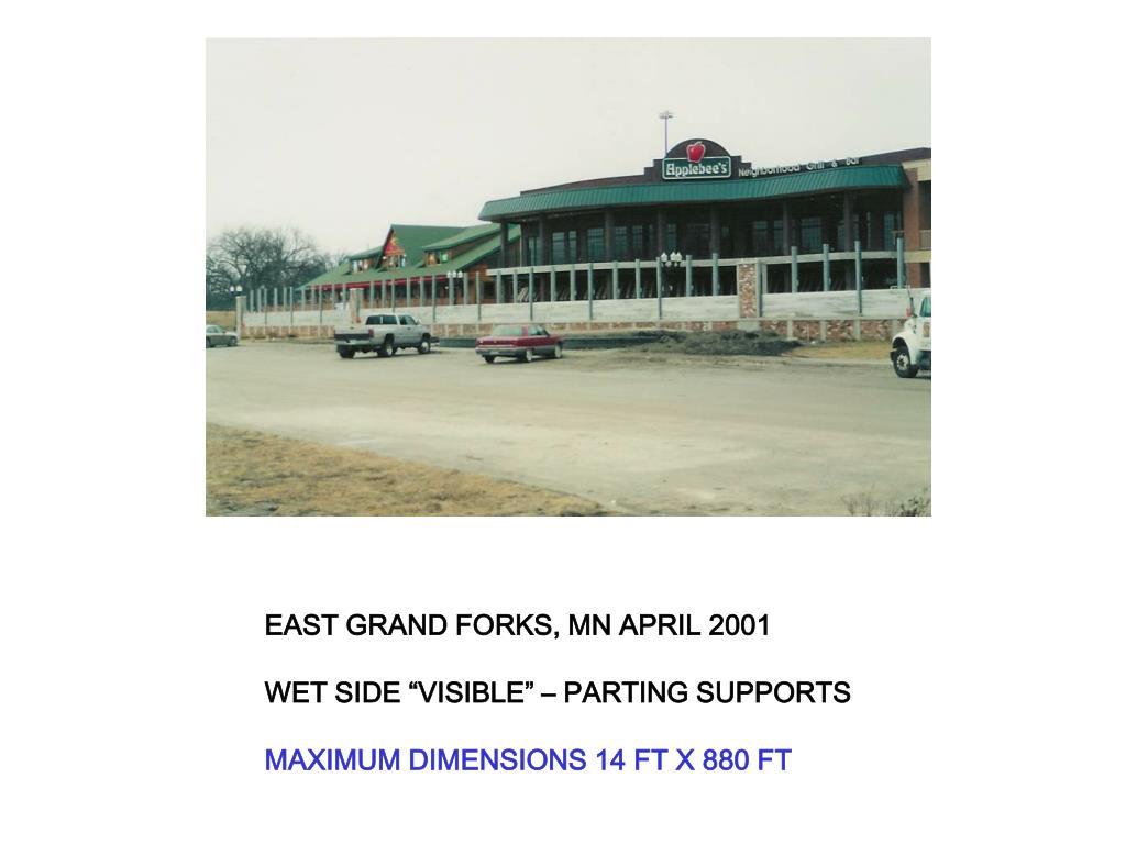 EAST GRAND FORKS, MN APRIL 2001