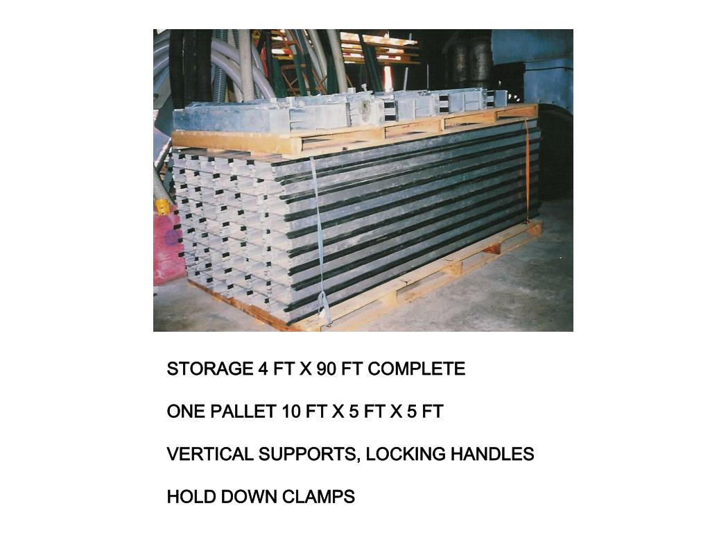 STORAGE 4 FT X 90 FT COMPLETE