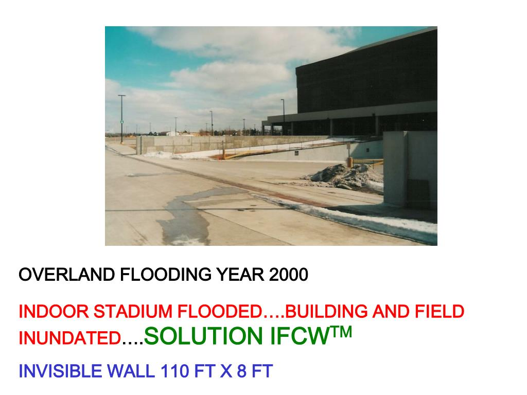 OVERLAND FLOODING YEAR 2000