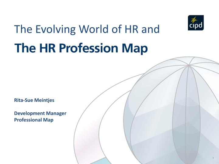 hr profession map Here then, in the tradition of david letterman, are the top 10 things i think every hr professional needs to do to succeed (in reverse order, of course).