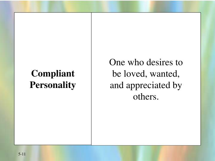 Compliant Personality