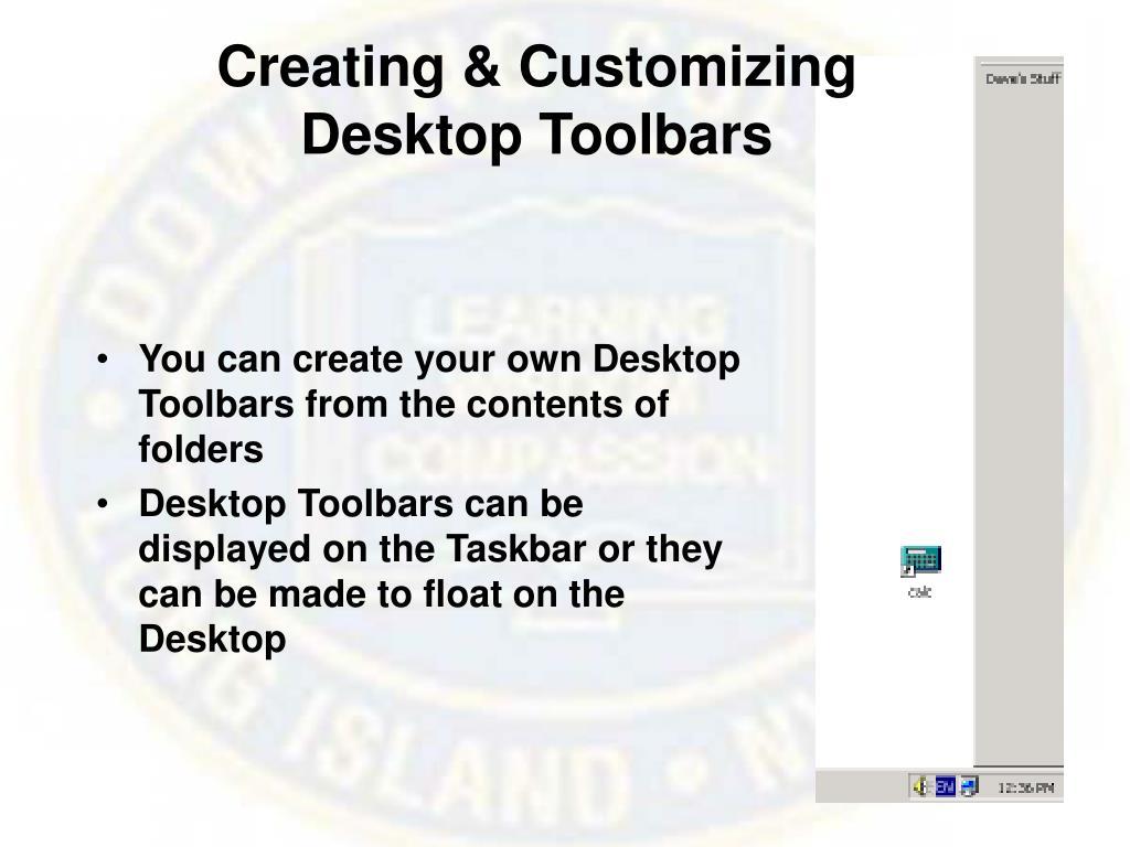 Creating & Customizing