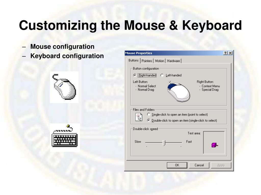 Customizing the Mouse