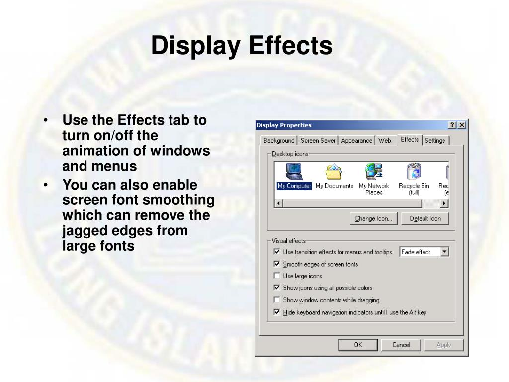 Display Effects