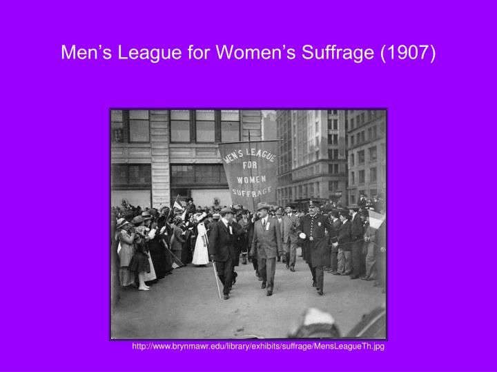 Men's League for Women's Suffrage (1907)