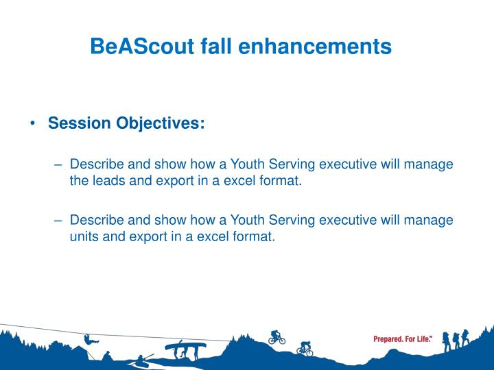 Beascout fall enhancements