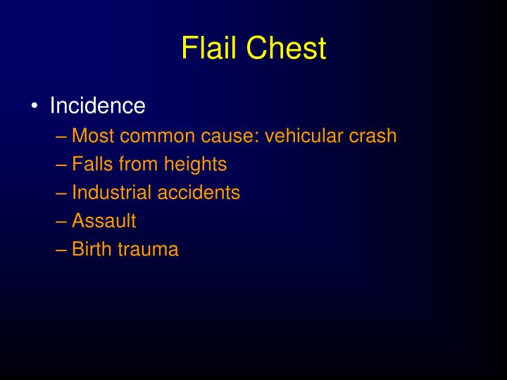 Flail Chest