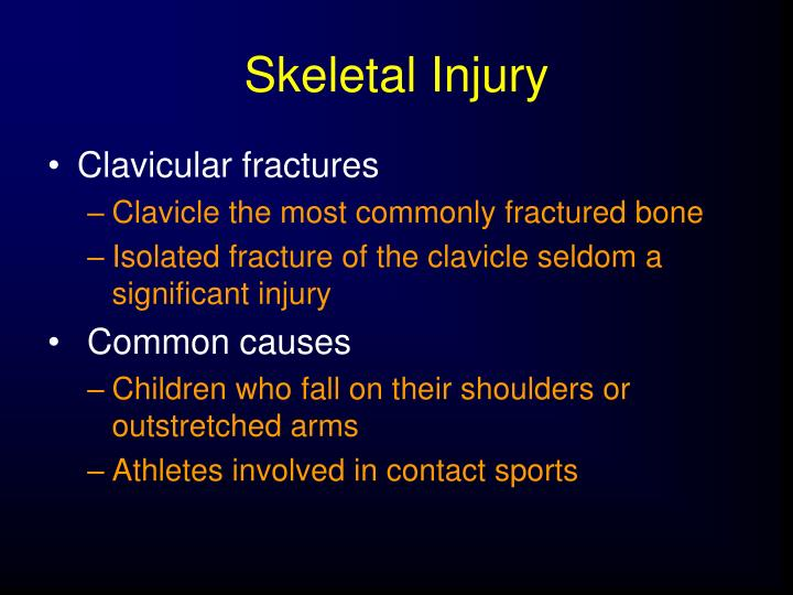 Skeletal Injury