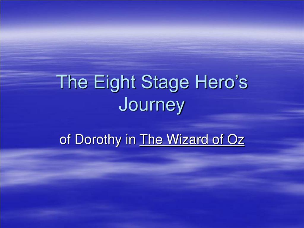 the eight stage hero s journey l.