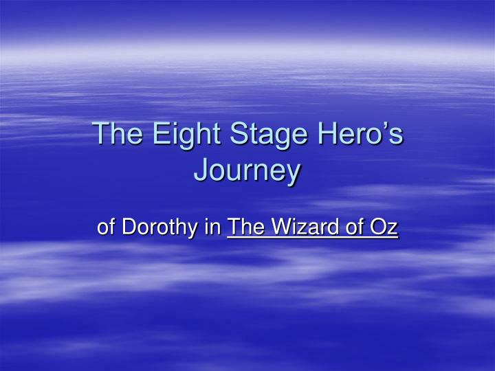 the eight stage hero s journey n.