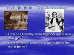 the initiation the atonement