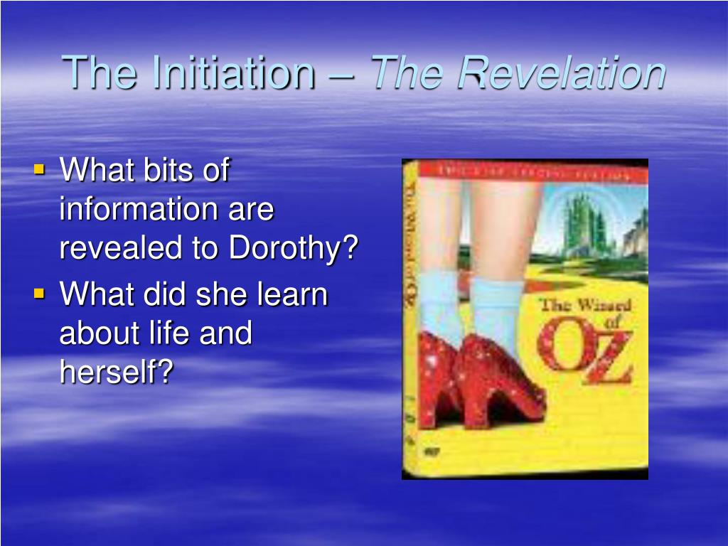 The Initiation –