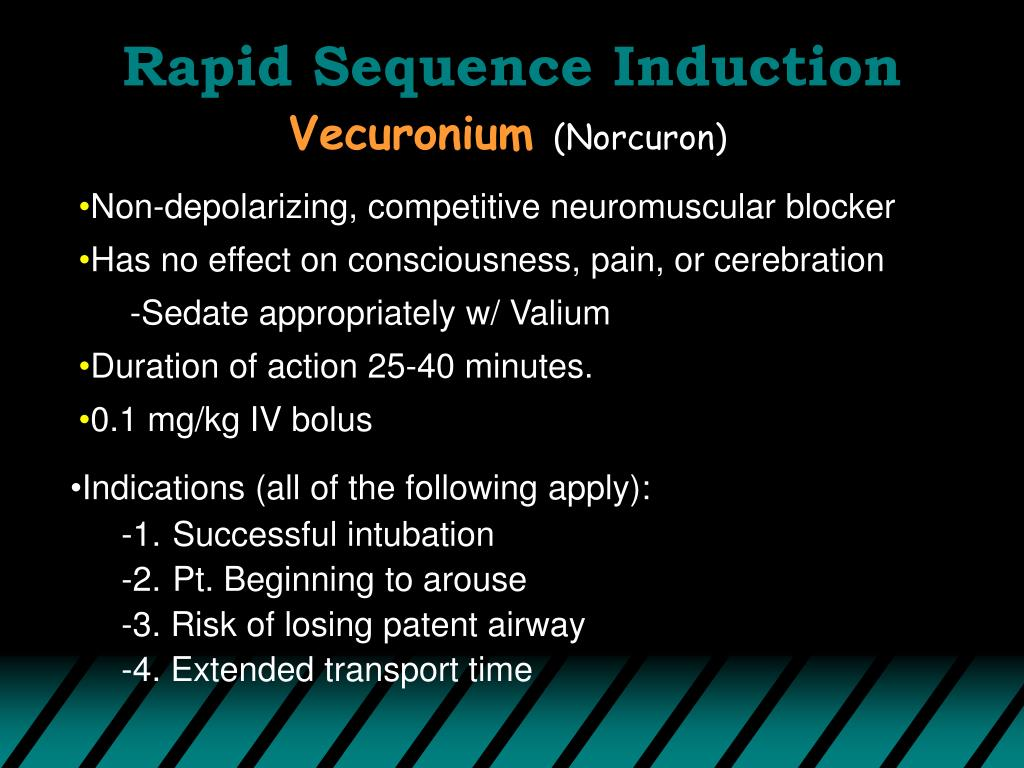 Rapid Sequence Induction