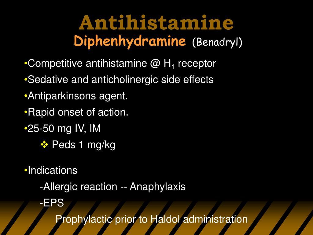 Antihistamine