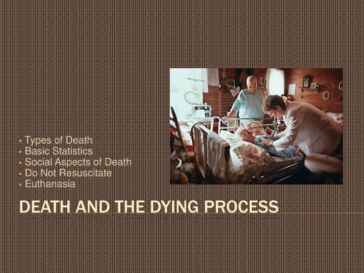 types of death basic statistics social aspects of death do not resuscitate euthanasia n.
