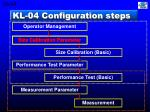 kl 04 configuration steps10