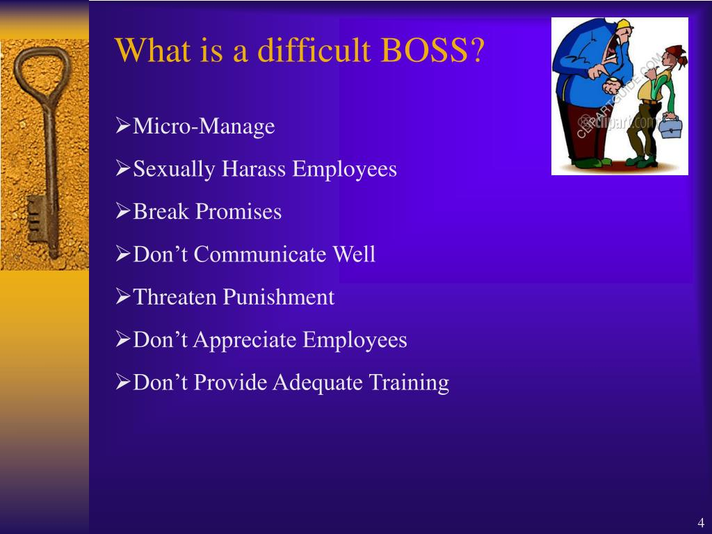 What is a difficult BOSS?