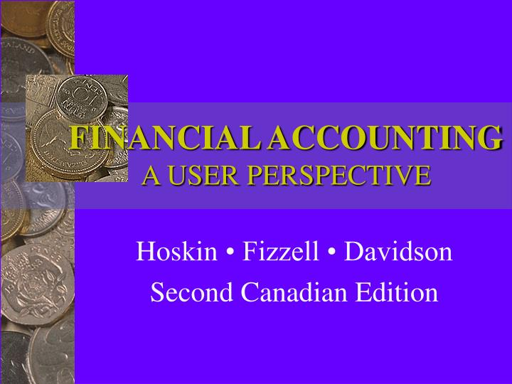 financial accounting a user perspective n.