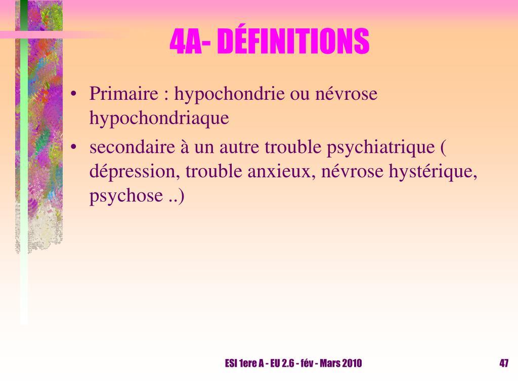 PPT - LES TROUBLES NEVROTIQUES CM - UE 2.6 « Le processus psycho ...