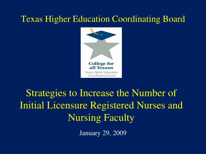 texas higher education coordinating board n.