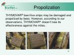 propolization