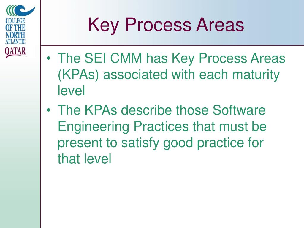 Key Process Areas