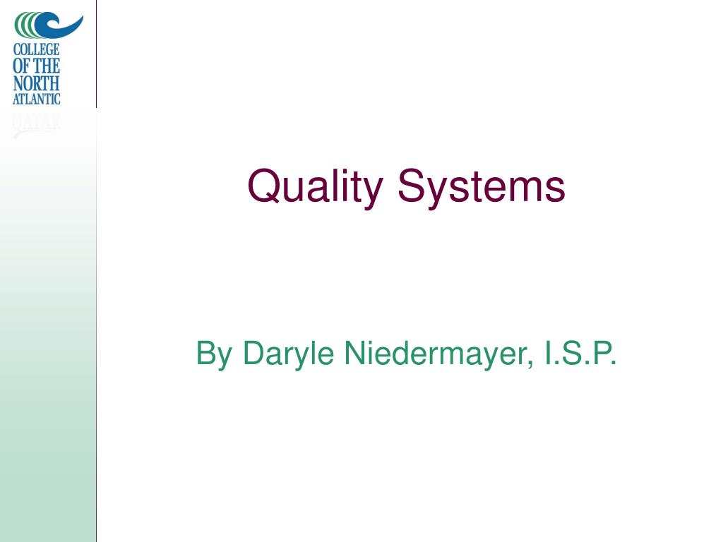 quality systems l.