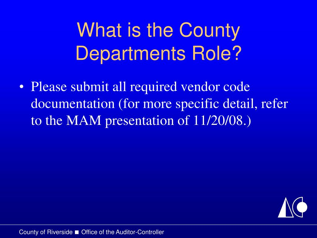 What is the County