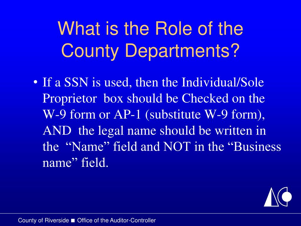 What is the Role of the