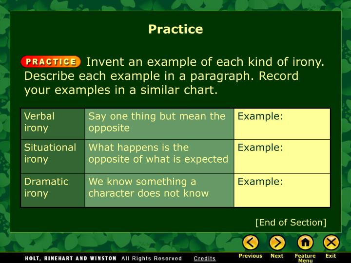 Ppt What Is Irony Powerpoint Presentation Id1379233