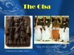 the oba